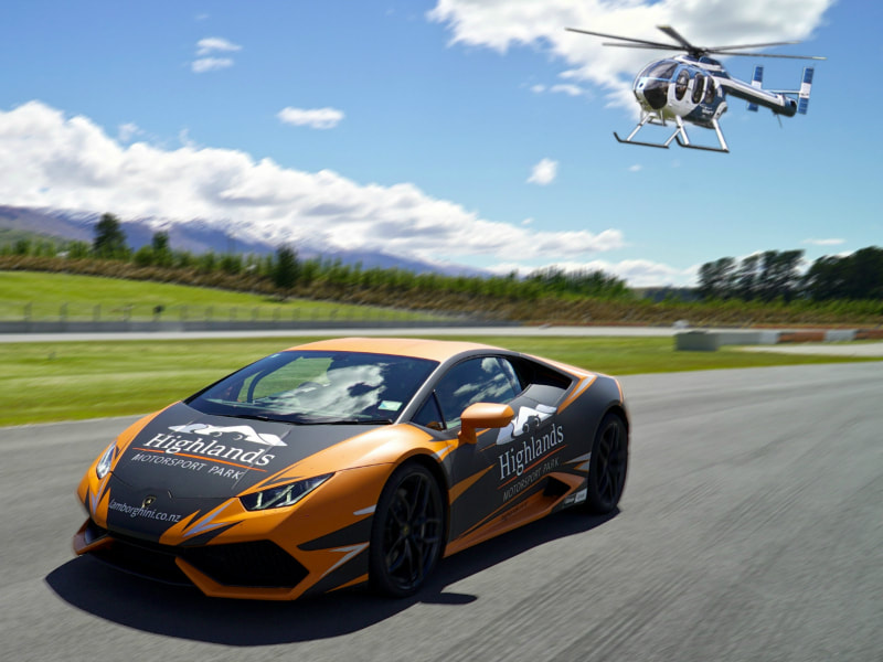 Combine a scenic helicopter flight with a Highlands Motorsport or Goldfields Jet experience